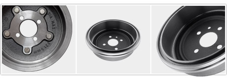 Brake and Clutch Components: Brake Drums